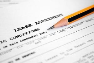 Lease agreement as a first time renter