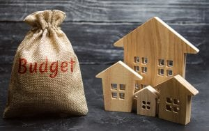Budgeting is part of a renter's checklist